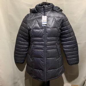 Spire By Galaxy Women's Zip Up Nippy Puffer Jacket